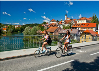 Ljubljana cycling